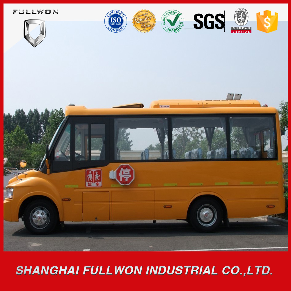 LHD diesel 6.6m 24-32 seats new low prices school bus for sale