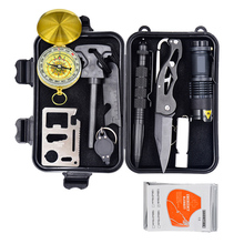 CE FDA approved wholesale Camping survvial gear/survival kit/disaster survival tools