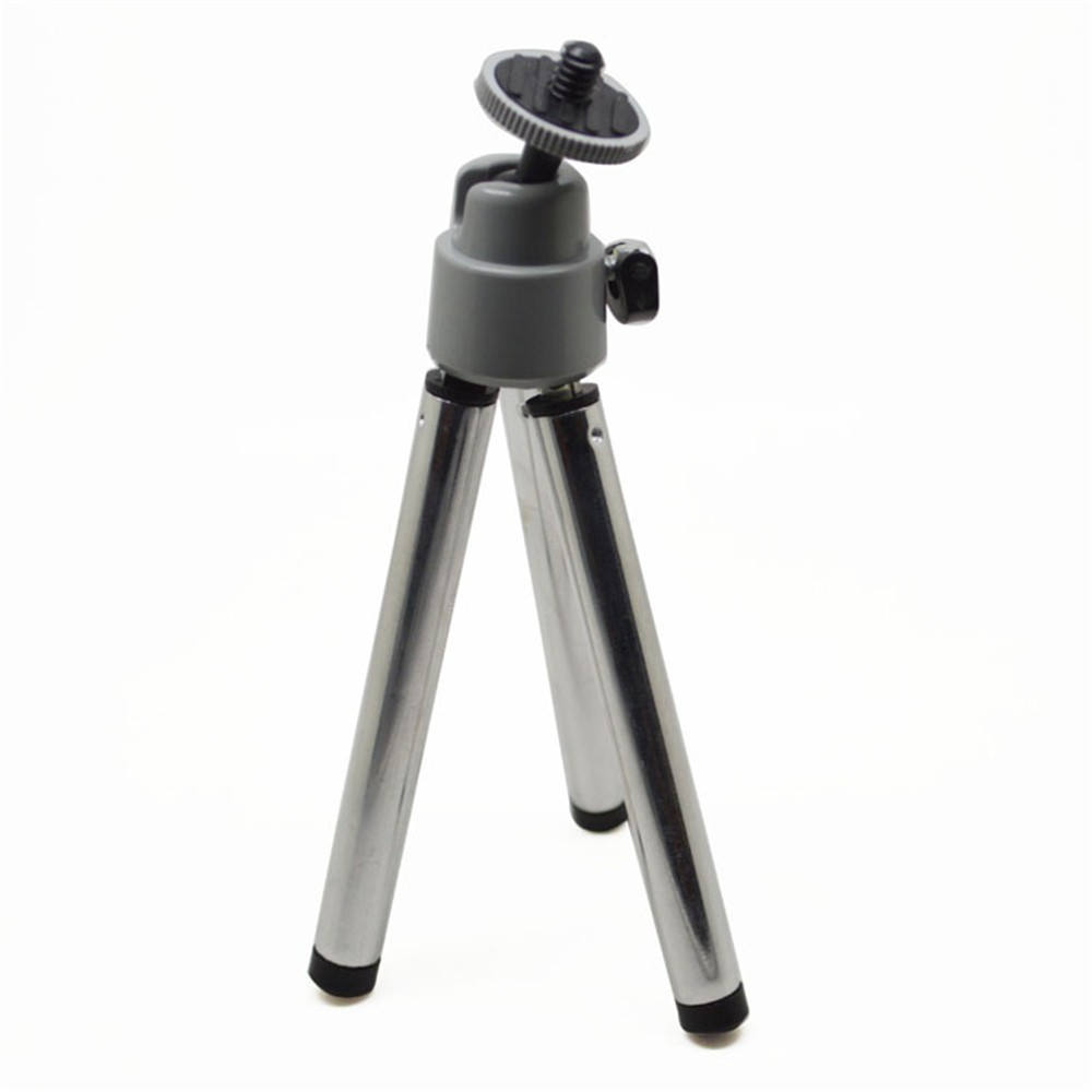 Black 1/4 Screw Mini Aluminum Metal Gopros Tripod Stand Mount For Digital Camera Webcam Phone DV xiaomi yi