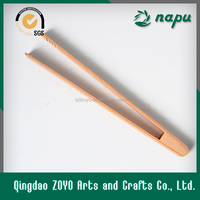 wood salad tong ,barbecue tong