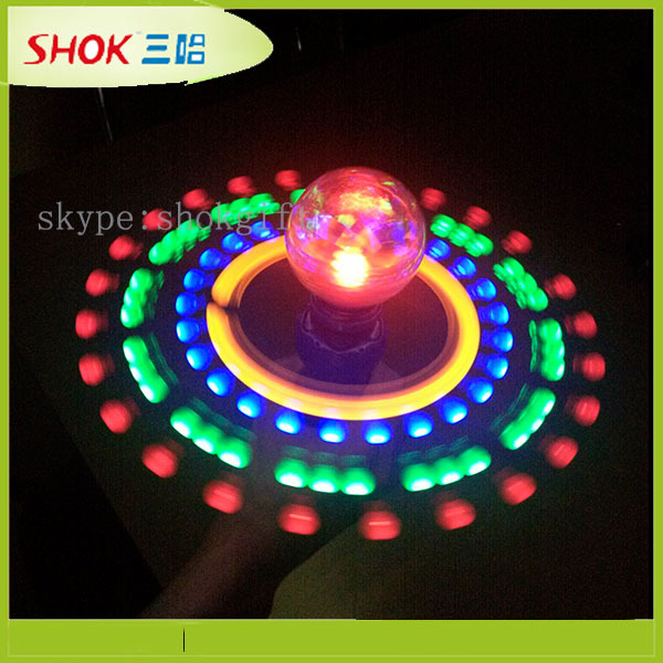 Hot selling new style led spinning light toy