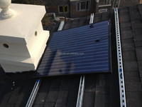 Roof mounting home solar system