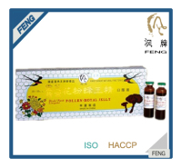 GMP Certified and Health beauty bird's nest lingzhi pollen royal jelly beauty tonic