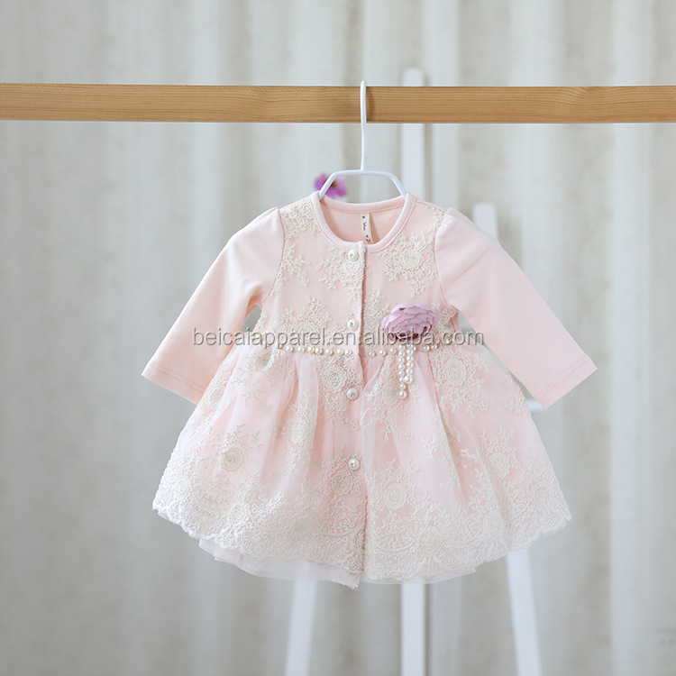 China Manufacturer Baby Girl Summer Dress Pink Sparkly Puffy Princess Wedding Party Kids Dress