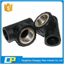 all size hdpe 3 way elbow pipe fittings
