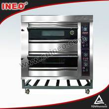 2 Deck 4 Trays Gas Baking Oven/Chimney Cake Oven/Small Gas Oven