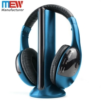 FM Radio mp3 Headset for TV Cheap Wireless Headphone, OEM Customized LOGO PC Gaming Headset