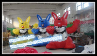 Customization! Promotional Inflatable Animal/Rabbits Cartoon/Events Character W10204