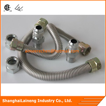 Corrugated Flexible LPG Stainless Steel Natural Gas tube
