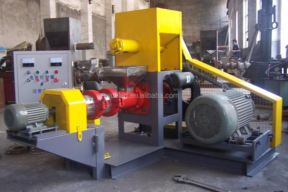 animal feed processing product dog food floating fish feed machine +8618637188608