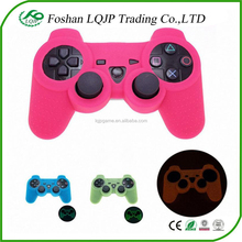 LQJP Silicone Case for PS3 Glow In Dark Protective Case Soft Silicon Case for PS3 Controller