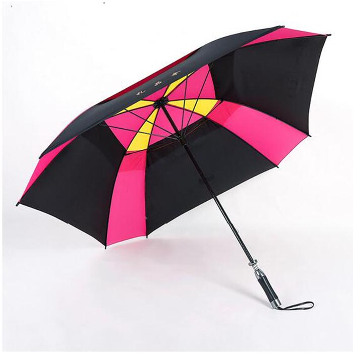 Standard Size High End Sport Long Straight auto open golf umbrella