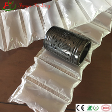 plastic air cushion packaging pillow bags and bubble films used in cartons and <strong>containers</strong> with export quality and best price