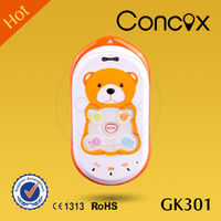 Concox High Accuracy Tracking Phone GK301 Check Location via Calls/SMS Command Long talk time battery mobile phone