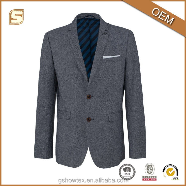 2016 New design high quality coat pant men suit