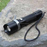 Portable Mini 3W rechargeable LED emergency flashlight