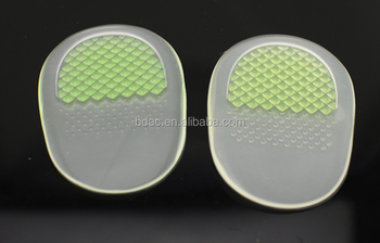 PU gel massage heel cushion comfortable heel pad heel pillow