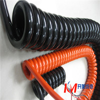 Electric tool spring cable spiral cable Coiled cable