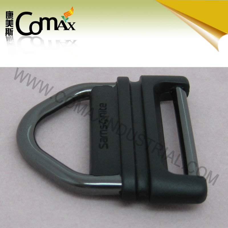 Cheap high quality backpack metal buckle with plastic