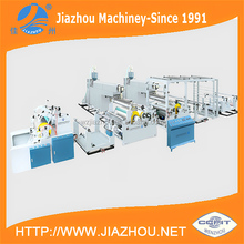 Automatic Tandem Double Extruder PP PE Coating Lamination Machine for PP Woven Sack
