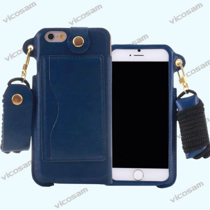 new PU flip Card slot Wallet Card Stand Case Cover For iPhone6