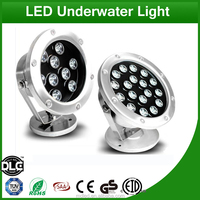New waterproof colorful DMX 18w Led fountain lights/rgb led underwater lights Discount Free Inspection