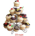 23 Cups 4 tier Cupcake Stand