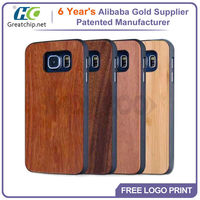 Wood cell phone case For samsung galaxy s6 Custom wooden cover 2015 hot sale Wholesale item Eco-Friendly case For Galaxy s6