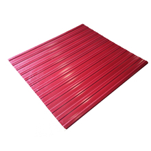 high quality synthetic resin roof sheets hard waterproof plastic corrugated PVC sheet