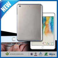 C&T Hot new product plain tpu case for ipad mini 4 transparent soft case