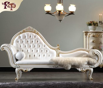 French style bedroom furniture high end classic chaise for Sofa estilo romantico