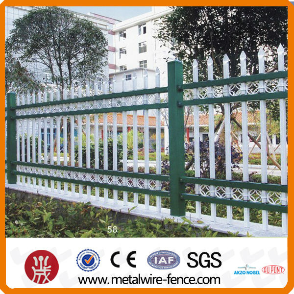 Fashional design wrought iron fence for balcony and garden