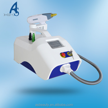 2017 professional laser tattoo removal machine price with CE certificate