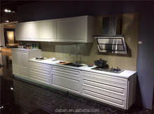 Metal kitchen sink base cabinet flat pack kitchen cabinet