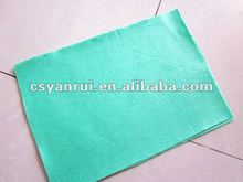 Super Absorbent Needle Punched Nonwoven Wipping Colth