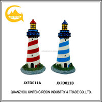 Resin lighthouse model for desk decoration
