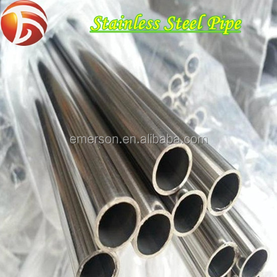Thin Wall Thickness Stainless Steel Pipe Tube /ASTM 201 316 316L Mirror Stainless Steel Seamless Pipe Tube