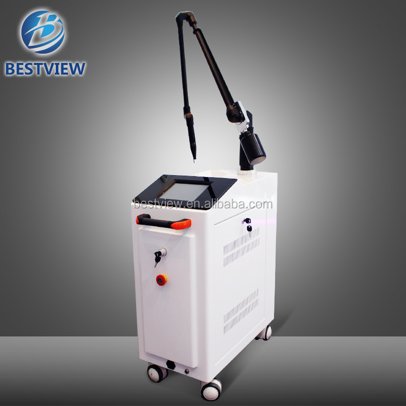 Technical equipments angioma removal laser tattoo removal machine