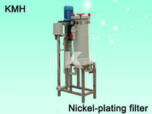 nickel plating filter, Chemical nickel filter, cylinder filter made in china
