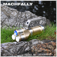 2015 The Blast High Quality 3T6 Waterpoof Fishing Light High Power 5 Color LED Fishing Flashlight
