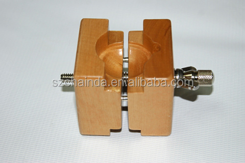 Adjustable Wooden Watch Dial Case Holder Change Battery Professional Watchmaker Repairing Tool