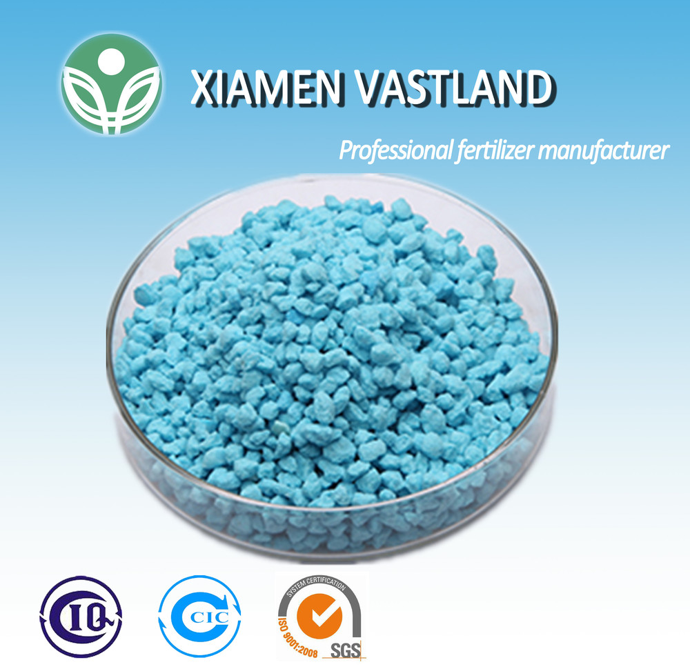 12-12-17 +2MgO blue granular npk compound fertilizer