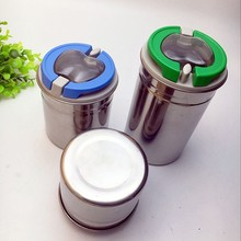 Chrismas gift 4 pcs tea suggar coffee condiment stainless steel canister set