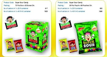 Super Sour Candy