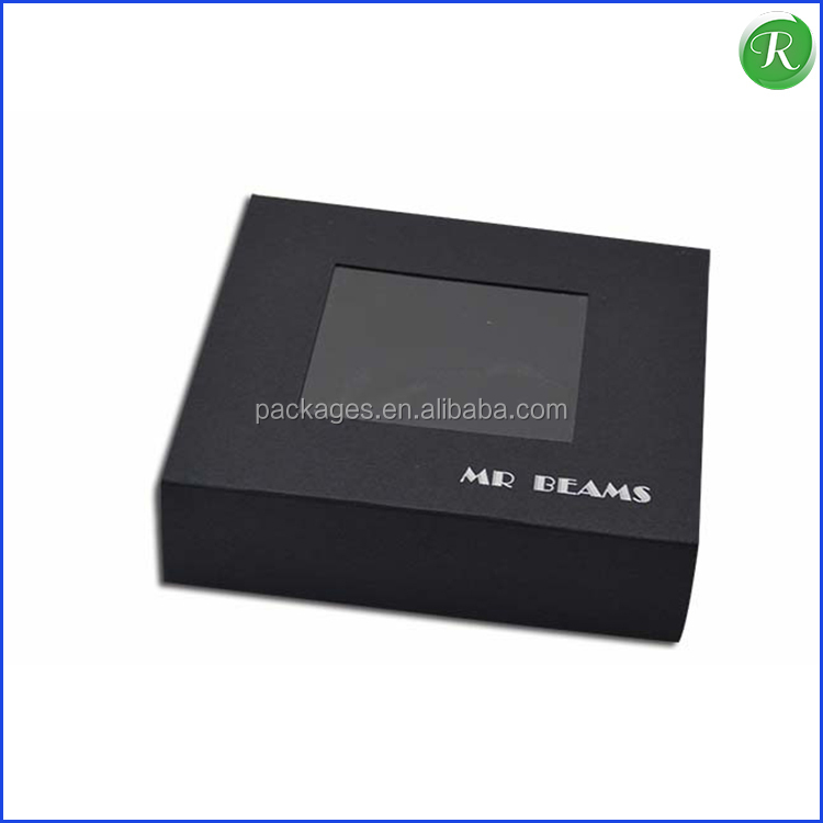 Black Paper Pull Box/Paper Box for Watch