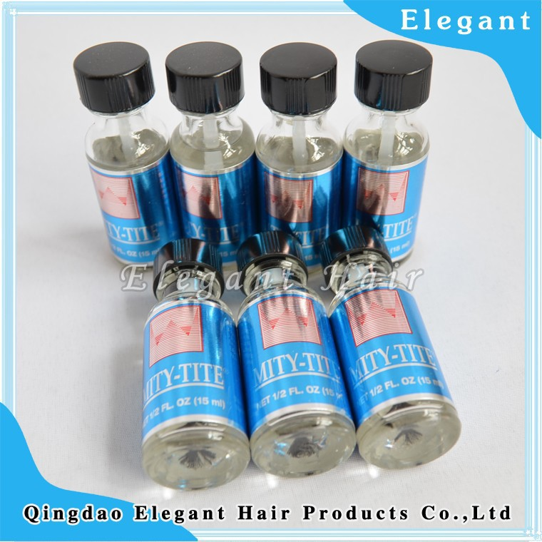 qingdao elegant MITY-TITE bold  custom private label super waterproof hold lace wig glue strong adhesive for wig lace closure