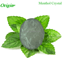 GMP Certified Pure and Natural Eucalyptus Levo Menthol Crystals Food Grade for Gum Food