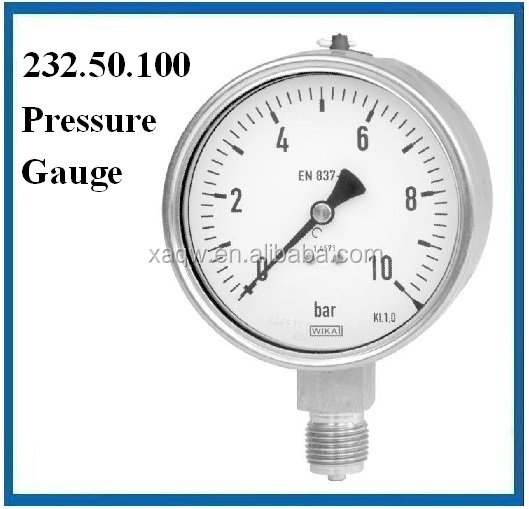Germany wika pressure gauge en837-1 232.50.100