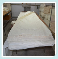 "126"" High quality Wide Wdith 100% Cotton Grey Sheeting Fabric"