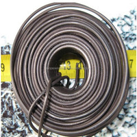 1.2mm Black annealed Binding Iron Wire 1kg per roll (china factory)